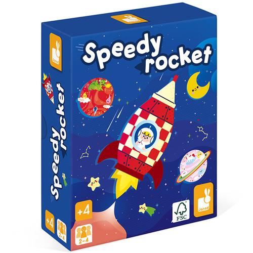 Speedy Rocket spel   Janod