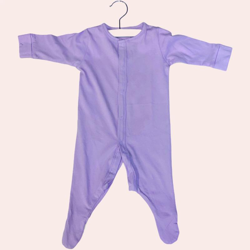 Sleepsuit lila | 0-3 maanden