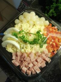 Huzaren salade, 3 personen