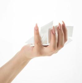 100% Lint-Free Wipes 900 Pas