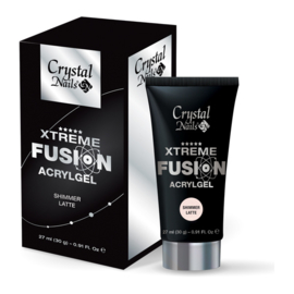 CN Xtreme Fusion AcrylGel - Shimmer Latte 30g