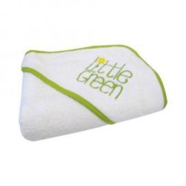 Little Green Hooded Towel
