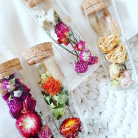 Flower tube - Vier varianten