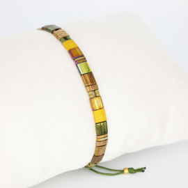 Armbandje Tila - Brons - Susies sieraden