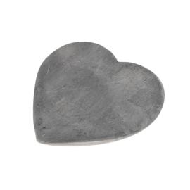 Zeep steen - Hart grijs