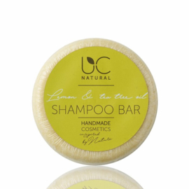 Shampoo bar - Lemon & Tea Tree oil UC Natural