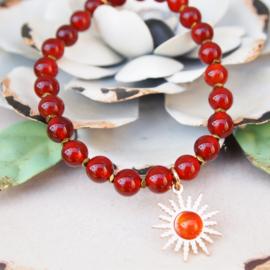 Armband - Sun red