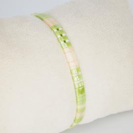 Armbandje Tila - Groen - Susies sieraden