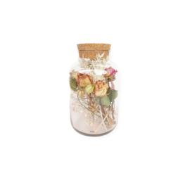 Droogbloemen - Roses and Ruches - Pot XL