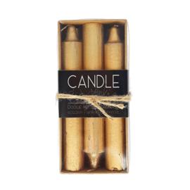 Dinerkaars - Candle junkie - Goud