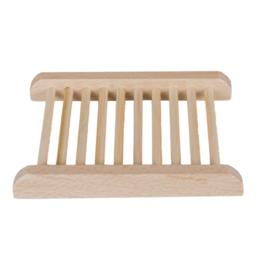 Zeephouder - Licht hout