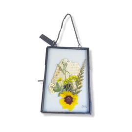 Droogbloemen lijst - Flowerframe M, industriël