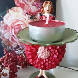 Bloemenmeisjes kaarsenhouder - Dahlia meisje