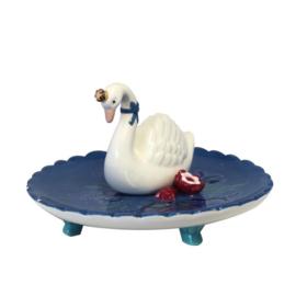 Sieraden schaaltje - Garden Swan