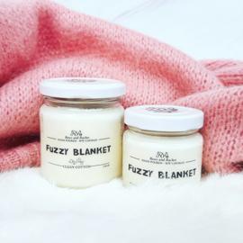 Soja geurkaars - Fuzzy blanket, fris gewassen