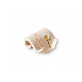 Zeepschaaltje - Keramiek - Droogbloemen krul