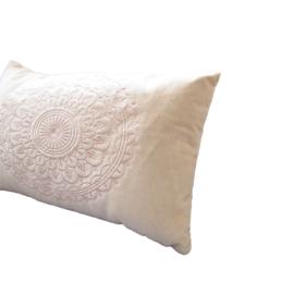 Kussen Preston Sand - 30x50 cm