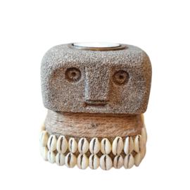 Sumba Stone Candle holder - Bazar bizar