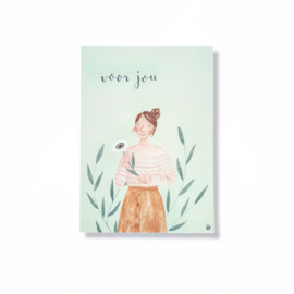 Carmens tekentafel kaart - Voor jou