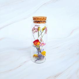 Dried flowers in a jar - M
