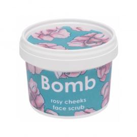 Face scrub - Rosy Cheeks - Bomb cosmetics