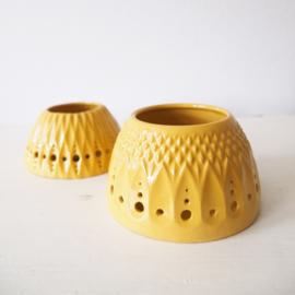 Sfeerlicht - Keramiek geel