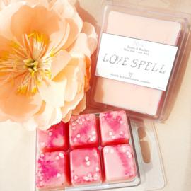 Waxbar LOVE SPELL - Perzik, kersenbloesem, jasmijn