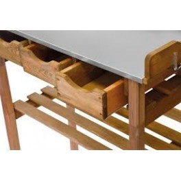 Oppottafel / Tuinwerktafel  met lades  HM1000