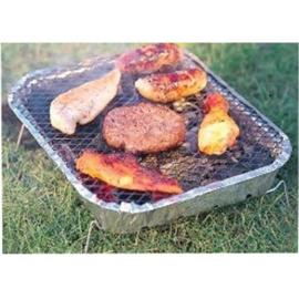 8 stuks - Wegwerp BBQ - Instant Grill - Houtskoolbarbeque - 31 x 24 x 5 cm  DD1000