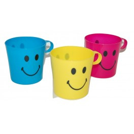 24 set Drinkbeker Smiley 3 stuks