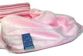 10 x Microvezeldoekjes roze 40 x40 cm