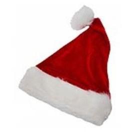 12 x Kerstmuts luxe kind 25 x 35 cm
