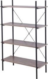 Kast - Stellingkast - 4 laags - 80x35x130cm HL0100