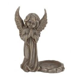 4 x Engel staand met graflichthouder