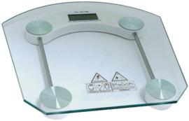 10 x Personen weegschaal glas digitaal EE2000