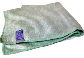 10 x Microvezeldoekjes groen 40x40 cm