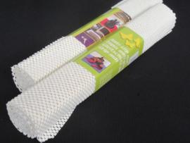12 x Antislip mat op rol wit 38 x 92 cm  CC2700B