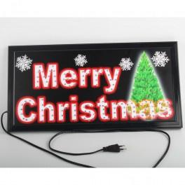 6 x LED Bord - Merry Christmas  KV5500