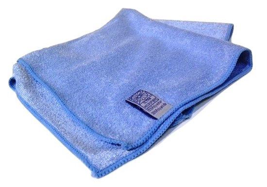 10 x Microvezeldoekjes blauw 40 x 40 cm  BB3200