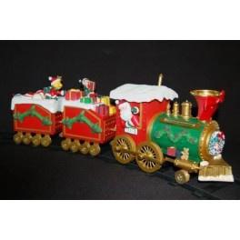 3 x Kersttrein  set met muziek