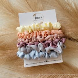 Scrunchie set pastel
