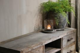 Tv meubel oud hout 161 cm breed