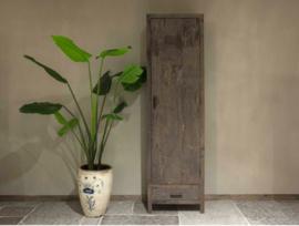 1-deurskast oud hout Florence