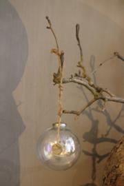 Hoffz kerstbal glas 12 cm