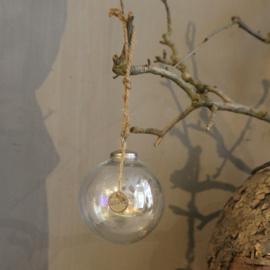 Hoffz kerstbal glas 9 cm