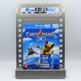 Cats & Dogs: The Revenge of Kitty Galore (Blu-ray 3D + Blu-ray)