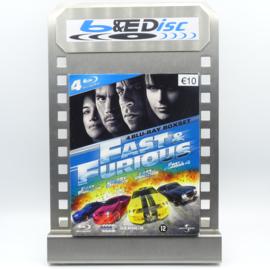 Fast & Furious: 4 Blu-ray Boxset (Blu-ray 4-Disc)
