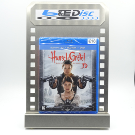 Hansel & Gretel: Witch Hunters (Blu-ray 3D + Blu-ray + DVD)