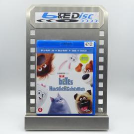 Huisdierengeheimen (Blu-ray 3D + Blu-ray + DVD + Digital HD)
