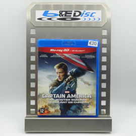 Captain America: The Winter Soldier (Blu-ray 3D + 2D Blu-ray)